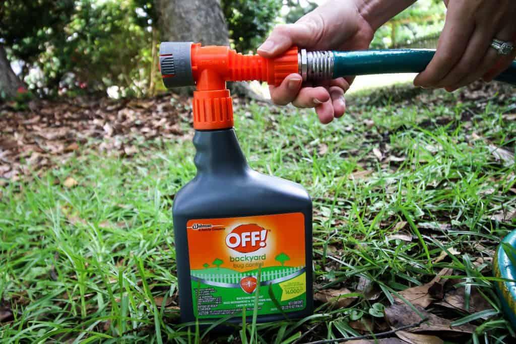 OFF!® Bug Control Backyard Pretreat