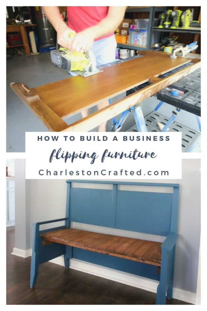 how to build a business flipping furniture