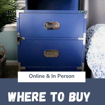 Where to find the best used furniture
