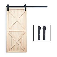 Barn door mounting hardware