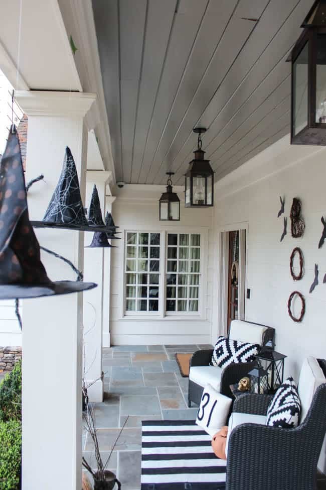 October Front Porch - Southern State of Mind Blog by Heather