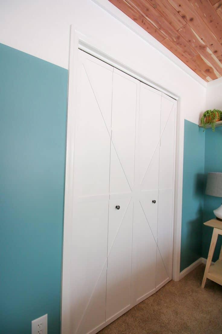How to DIY Bi-fold Barn Doors
