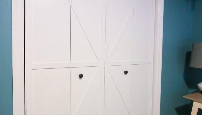 DIY Bi-fold Barn Doors