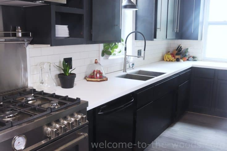 Solid Surface Countertop Fabrication