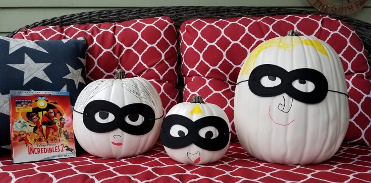 How to Make an Incredibles Pumpkin + More Incredible Halloween Tips!