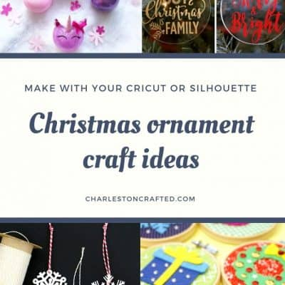 Cricut Christmas Ornament Ideas