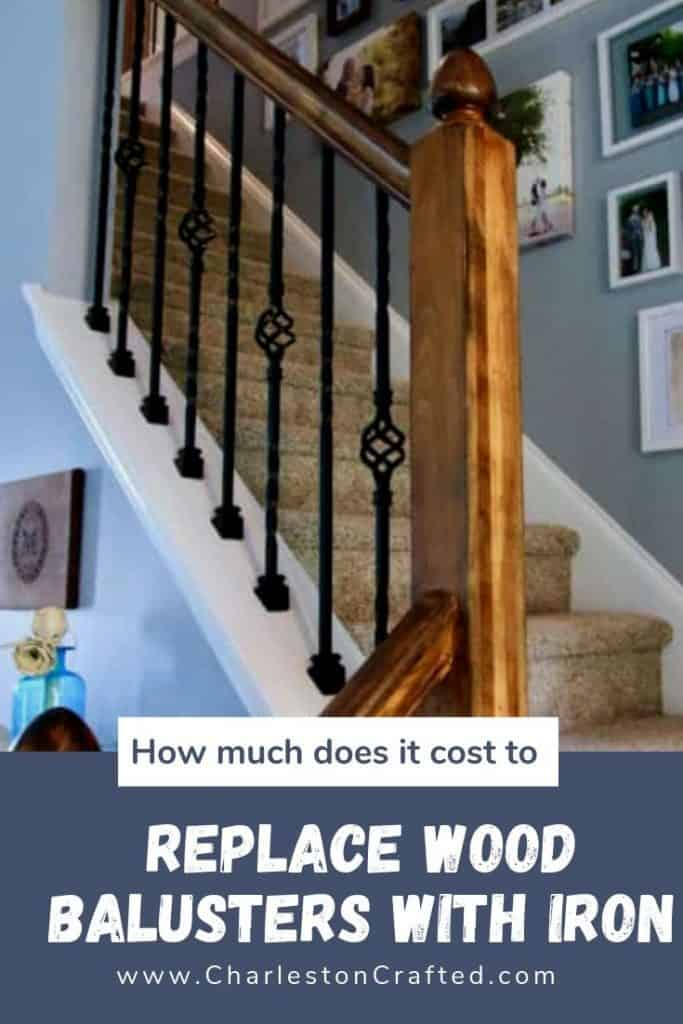 How Much Does It Cost To Replace Wood Balusters With Iron