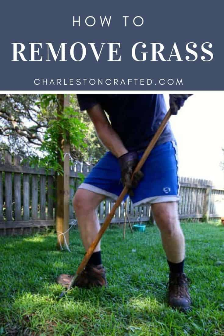 how to remove grass the best way