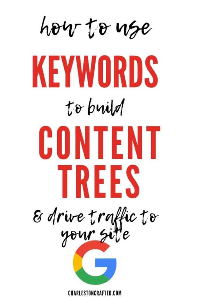 how to use SEO keywords to build content trees and drive traffic to your site