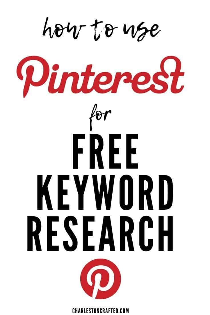 how to use pinterest for free keyword research