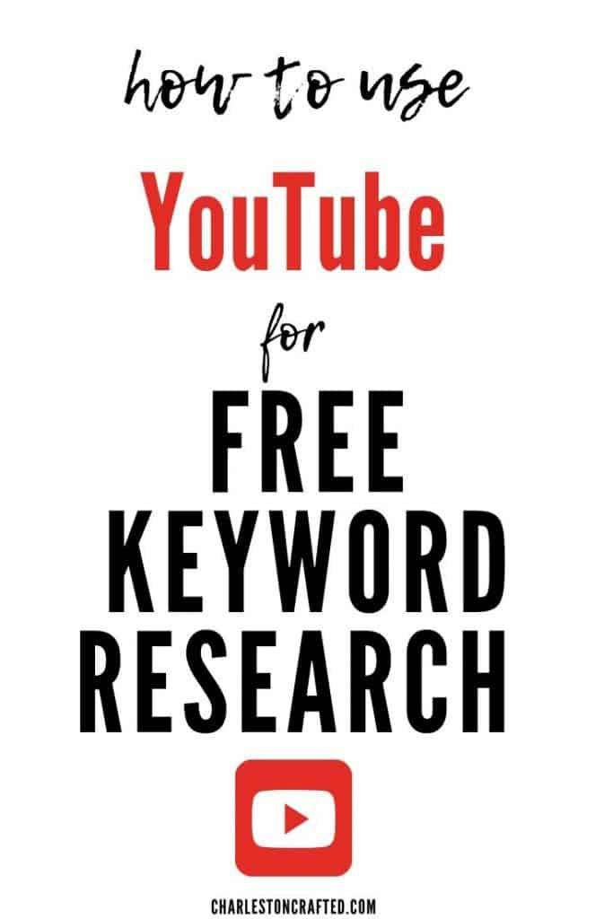 how to use youtube for free keyword research