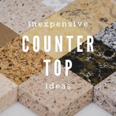 Inexpensive Countertop Ideas