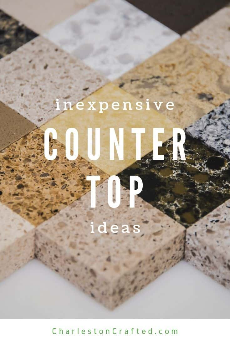 Image of: Inexpensive Countertop Ideas For 2021