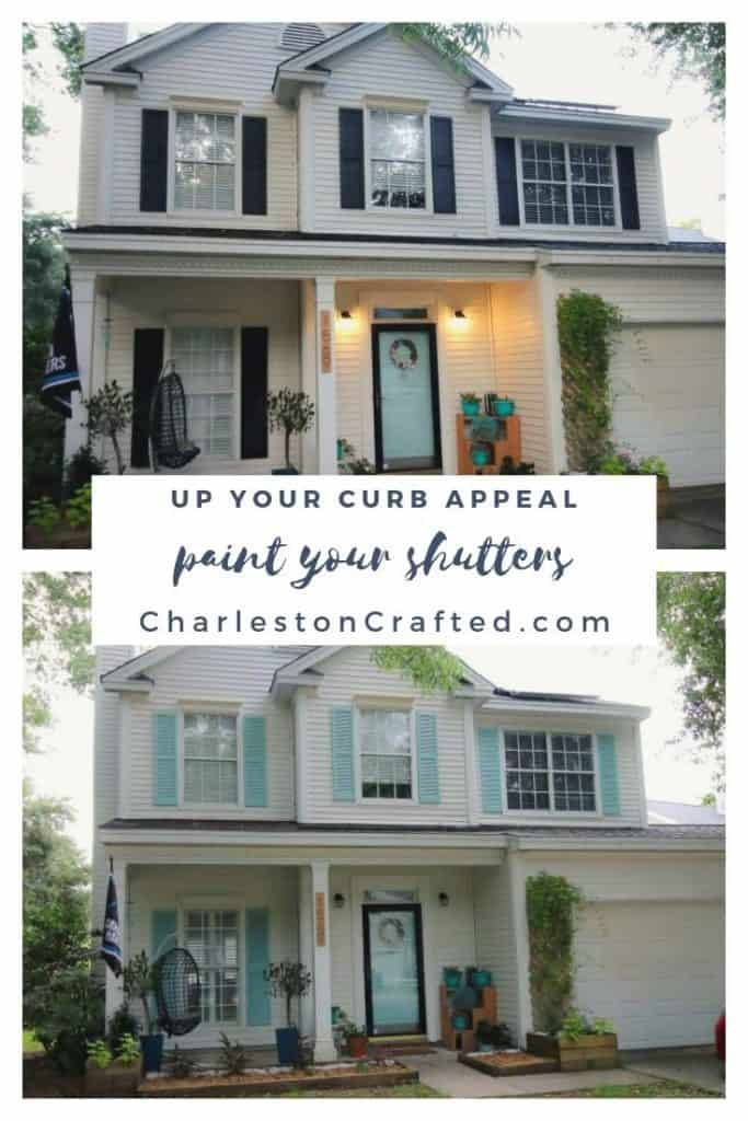 paint your shutters