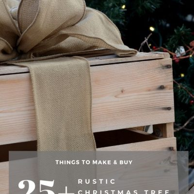 25+ Rustic Christmas Tree Decorations