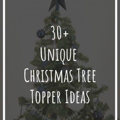 30+ Unique Christmas Tree Toppers