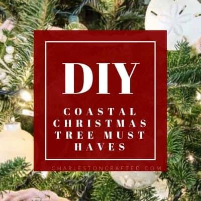 The BEST Coastal Christmas Tree Ideas
