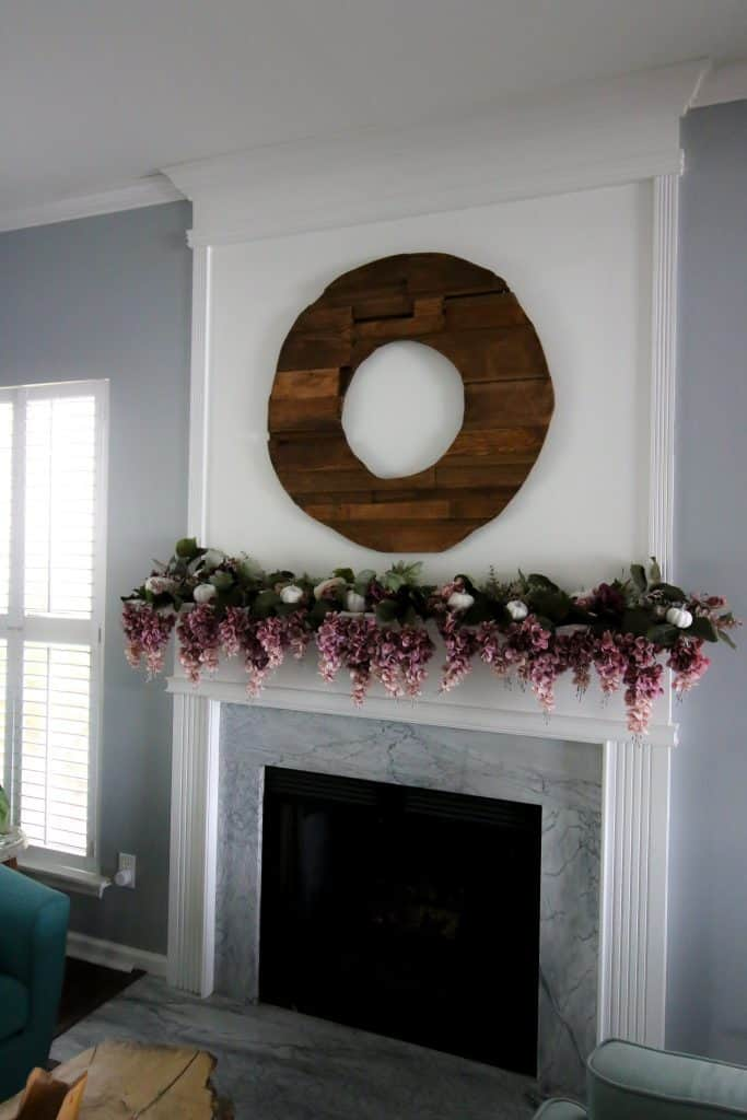 how to make a scrap wood wreath