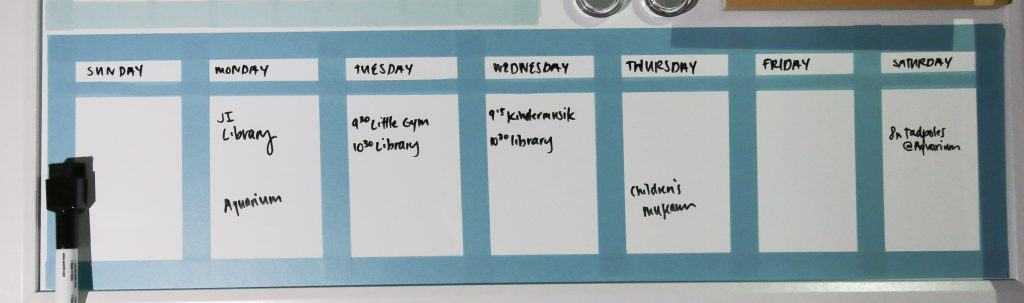 How to DIY any Dry Erase Board into a Calendar