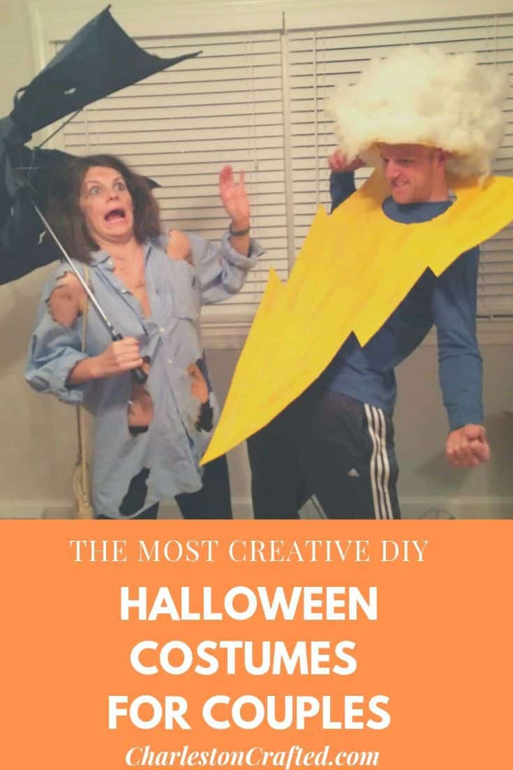the most creative DIY couples Halloween costume ideas!