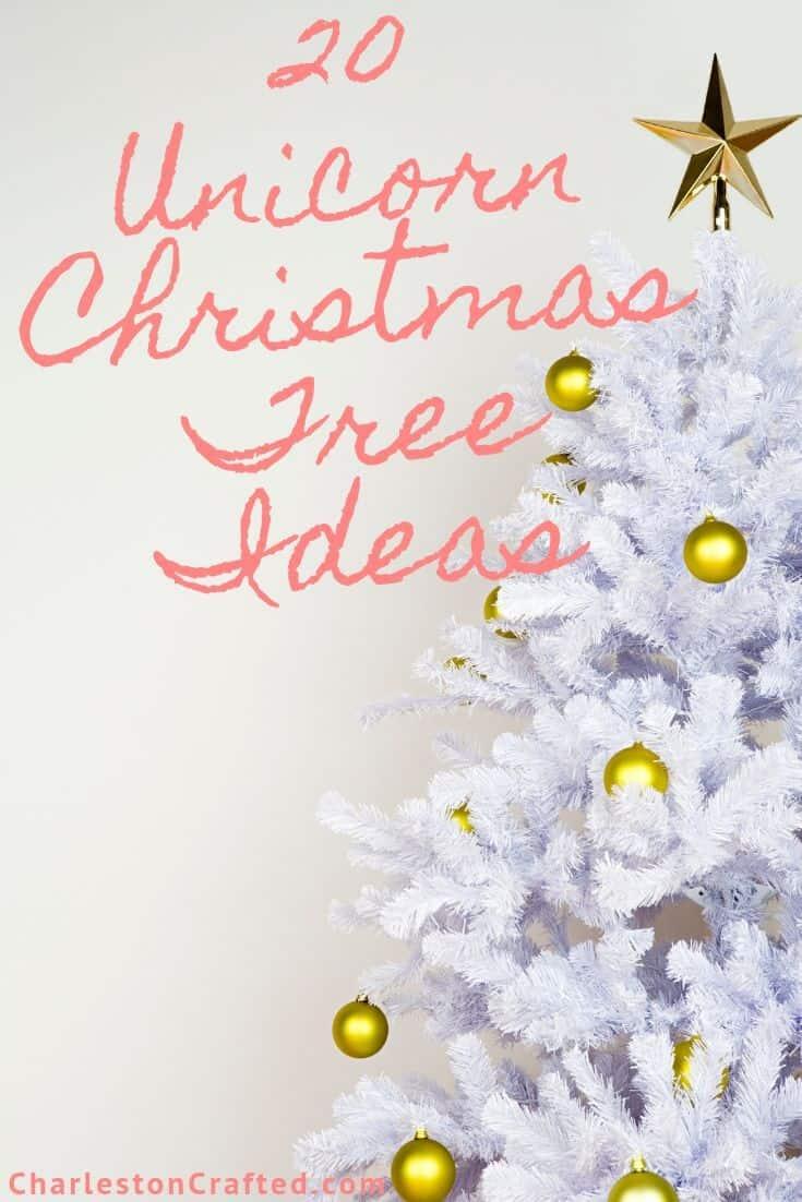 Unicorn Christmas Tree Ideas