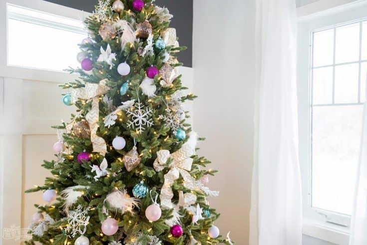 Unicorn Inspired Christmas Tree