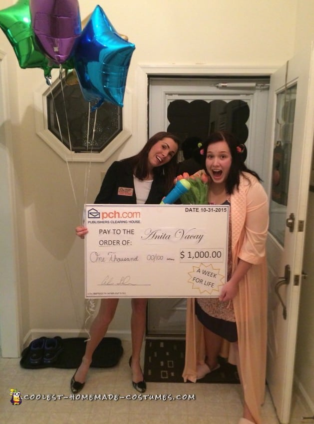 Publishers Clearing House Sweepstakes Couples Costume