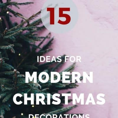 15 Modern Christmas Tree Decorations
