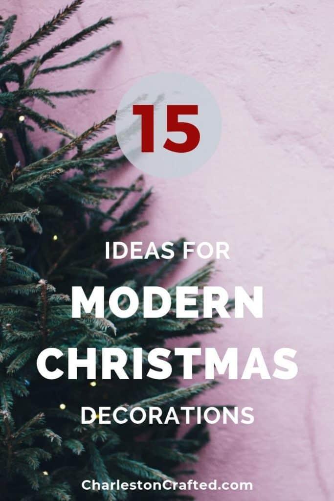 15 Modern Christmas Tree Decorations