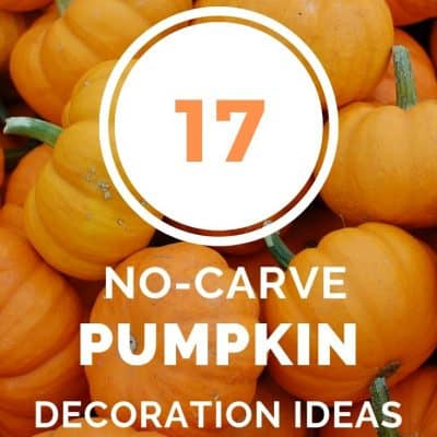 17 No-Carve Pumpkin Decorating Ideas