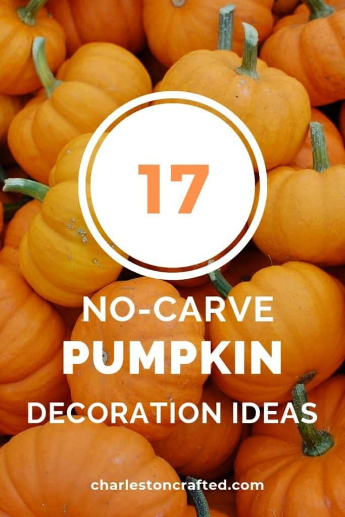 17 no carve pumpkin decorating ideas