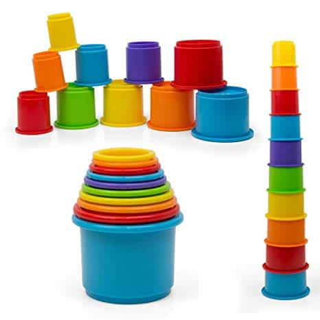 Rainbow Stacking & Nesting Cups