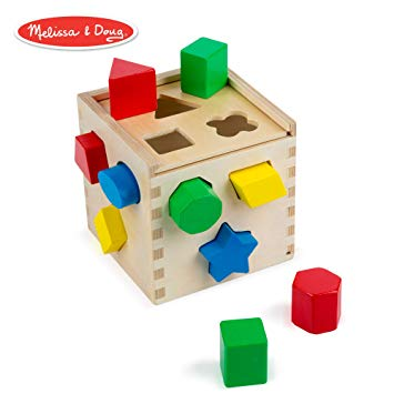 Shape Sorting Cube Classic Wooden Toy