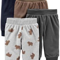 Simple Joys by Carter's Baby Boys' 4-Pack Fleece Pants