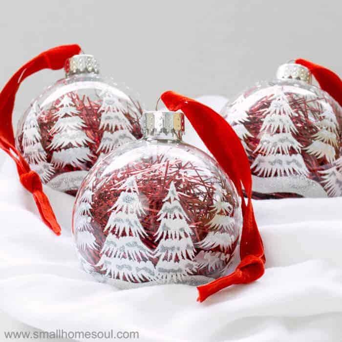 Easy Ornament Updates – Make Plain Ornaments Gorgeous