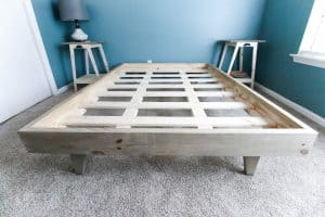 How to Build a Platform Bed for $50 – FREE PDF Plans!