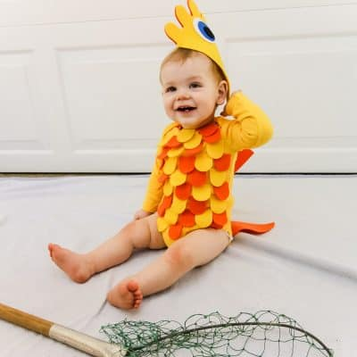 DIY Baby Fish Costume