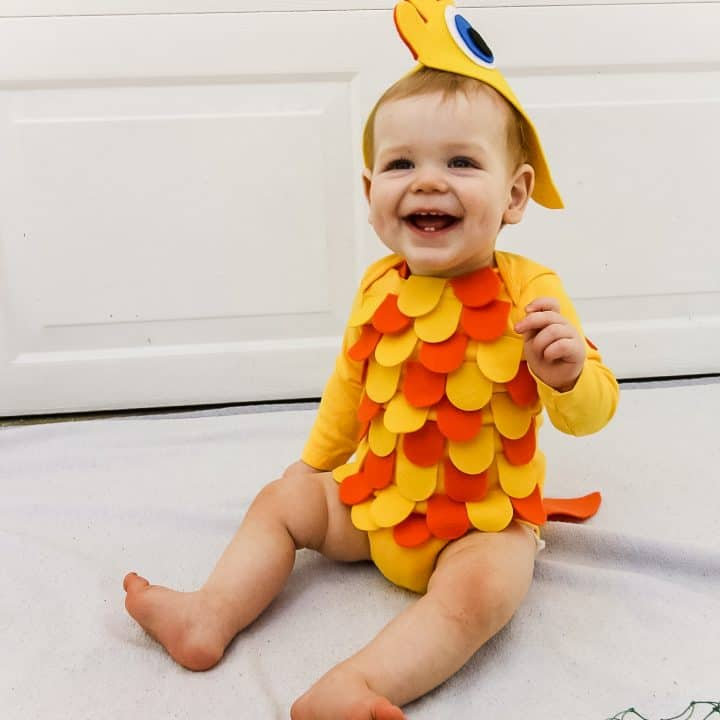 How to make a DIY baby fish costume