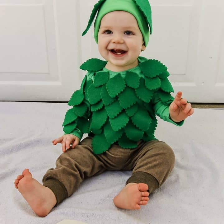 How to make a DIY baby tree costume