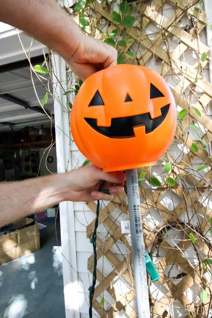 How To Make A Diy Plastic Pumpkin Topiary