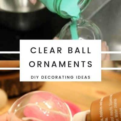 30+ Plastic ball ornament decorating ideas
