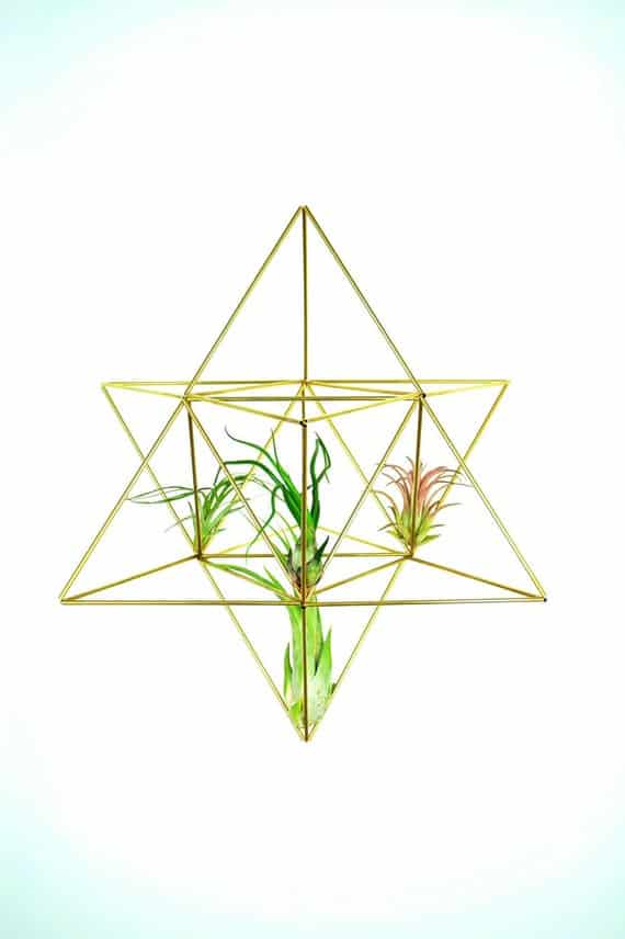 Merkaba himmeli tree topper