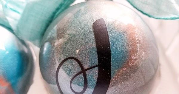 Marbled Metallic Ornaments