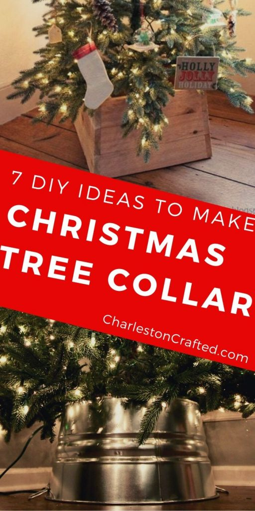 7 DIY ideas for how to make a DIY Christmas tree collar