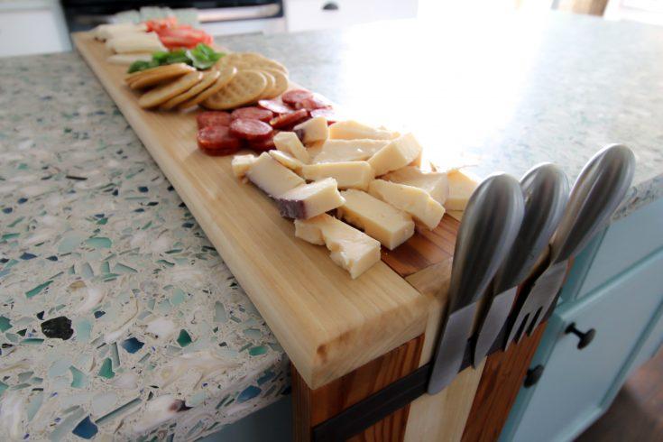 Waterfall Edge Cheese Board