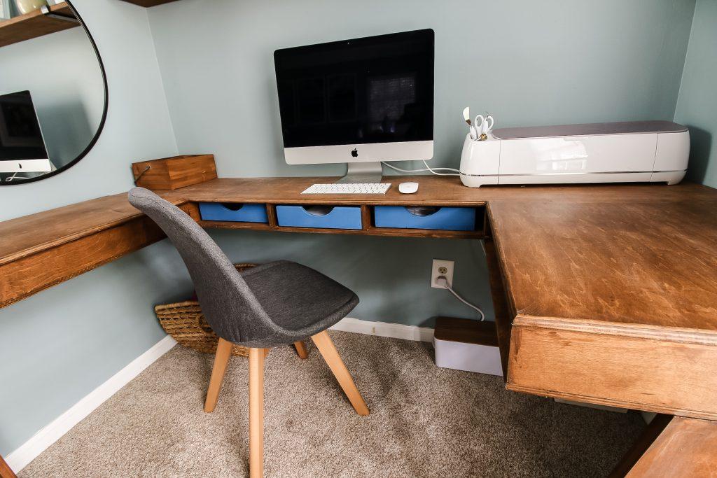 Desk part