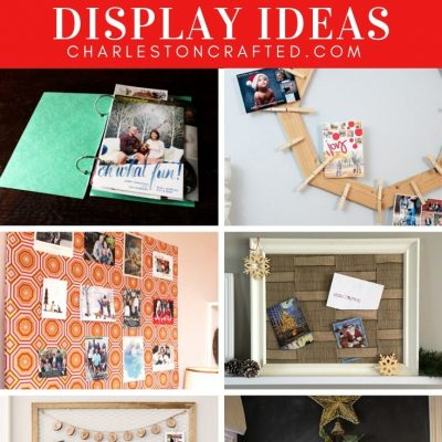 23 Christmas Card Display Holder Ideas