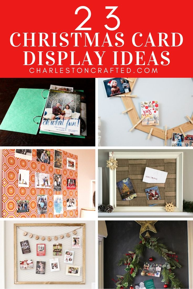 23 Christmas Card Display Ideas