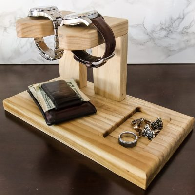DIY Men's Watch Holder