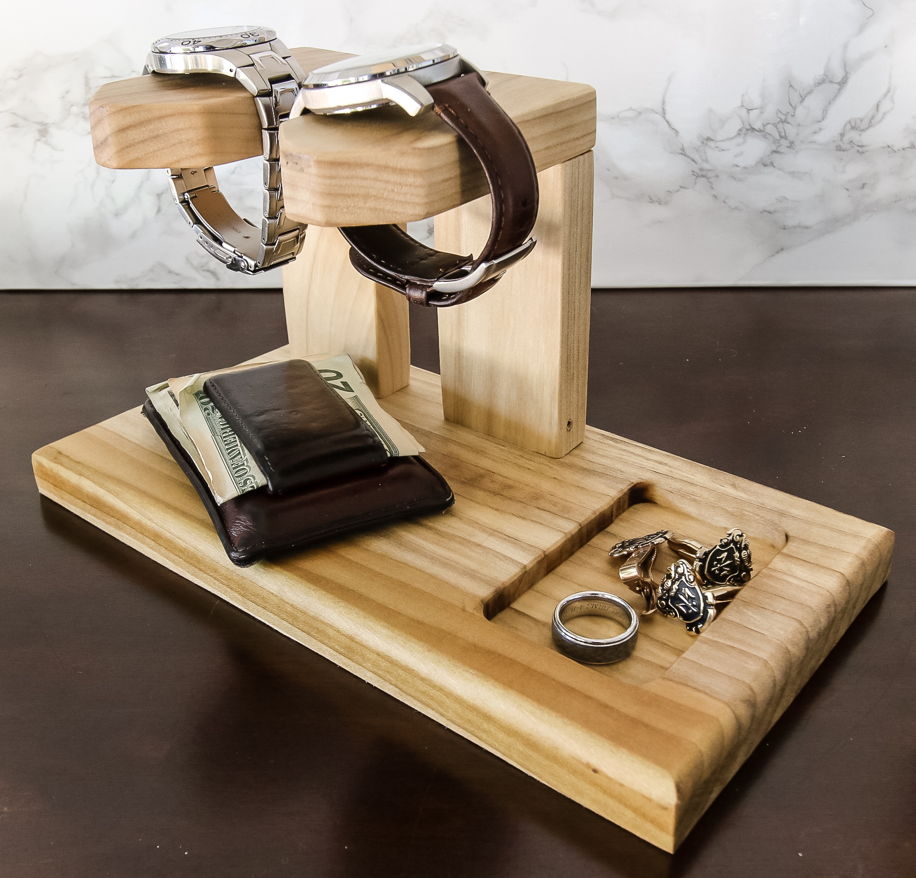 DIY Watch Holder - Charleston Crafted